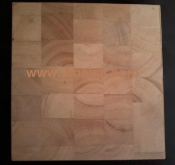 Wall Panel End Grain